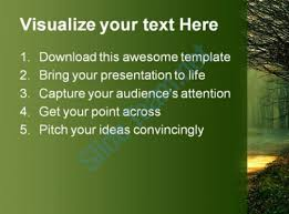 Sunbeams Nature Powerpoint Template 0610 | Templates Powerpoint ...