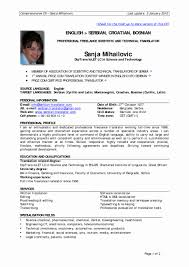Original Resume Template Experience Resume Format Sample Unique Resume Samples Work 75