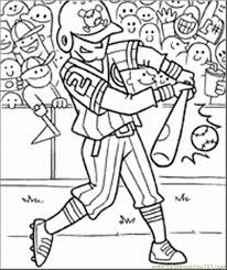 Small Picture Free Baseball Coloring Pages FunyColoring