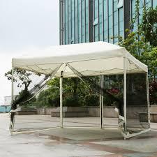 iKayaa 3*3*2.6M Folding Outdoor Patio Canopy Gazebo Tent