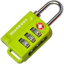 <b>Munkees</b> TSA <b>Combination Lock</b> - Walmart.com - Walmart.com