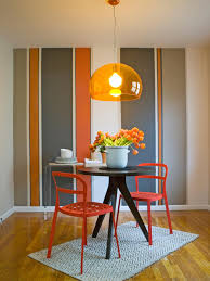 Orange Dining Room Chairs Design Home And Interior Design Dining Room The Enchanting Image