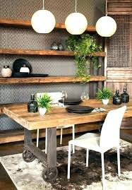 good industrial dining room and rustic industrial dining tables industrial dining room table zinc top dining