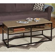 coffee tables  black wrought iron and wood coffee table round