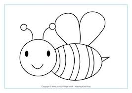 Small Picture Bee Colouring Pages