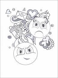 Disegni Da Colorare Emojis Emoticons 3