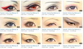 bishounen eye makeup lots of diffe styles they all look really cool without being