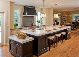 kitchen lighting ideas houzz. kitchen recessed lighting and low ceiling pendant lamps over double sink island with seating ideas houzz g