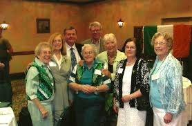 TRSC group: From left, Sister –, Beth Walkup, Tom Crosby, Pat Lavin, Sister  Theresa, Wendy Green, Pauline Crosby, and Joan Lavin   Cllr. Tom Crosby