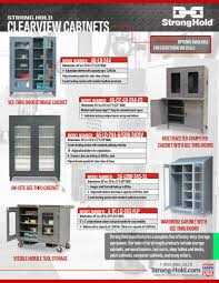 Strong Hold Cabinets Catalogs Strong Hold Products