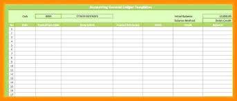 Free Ledger Forms Bigdatahero Co