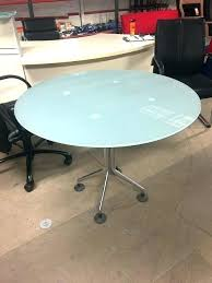 round office desk used frosted glass round office table intended for desk prepare 8 tables round office desk
