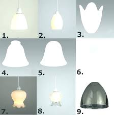 replacement glass sconce shades frosted lamp small clear table