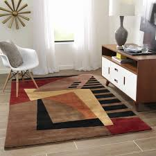 wave area rug best of momeni new wave symphony hand tufted wool area rug 7 9