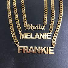 personalized gold uni choker necklace