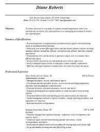 Secretary Resume Enchanting 28 Free Secretary Resume Samples Sample Resumes