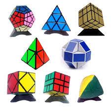 <b>8pcs</b>/<b>Set Shengshou Black Strange-shape</b> Magic Cube Set Speed