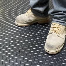 rubber floor mats garage. 2 Of 4 Industrial Floor Mats Garage Rubber Roll Out Non Slip Safety Protect  Equipment 3 Rubber Floor Mats Garage