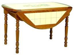 élégant Table Cuisine Carrelee Table Carree Extensible Blanche Table