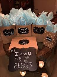 5 senses easy diy birthday gifts for boyfriend handmade presents for husband anniversary diy gifts for boyfriend