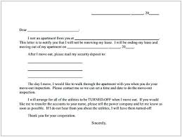 Lease Termination Letters Apartment Lease Termination Letter Cycling Studio