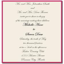 Wedding Invitation Quotes Enchanting Wedding Invitation Wording Both Parents Giant Design Wedding