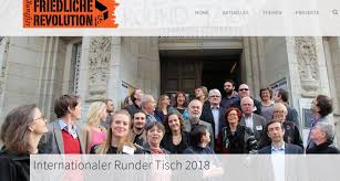 bluelink s executive editor dr pavel antonov partited in the peaceful revolution foundation roundtable in leipzig germany