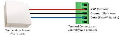 digital temperature sensor wall mount enclosure wall mount temperature sensor wiring diagram