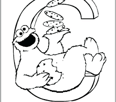 Cookie Coloring Pages Christmas Cookies Coloring Page Elmo And