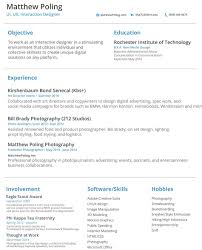 Ui Designer Resume Sample 11 Resume Designs With Slick Personal