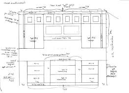 Standard Height For Kitchen Cabinets Cool Design