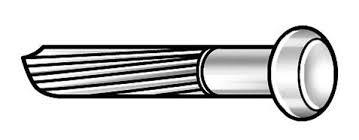 4nfa2 masonry nail fluted 1 in l pk173