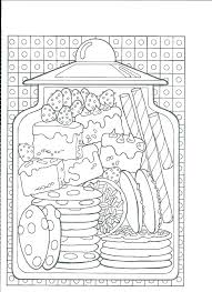 Kawaii Food Coloring Sheets Spotlight Printable Pages Fast F Unknown