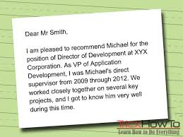 Learn How To Write A Letter Of Recommendation
