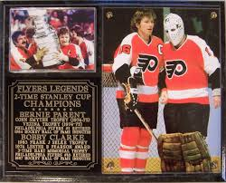 flyers stanely cup bobby clarke bernie parent philadelphia flyers stanley cup champs