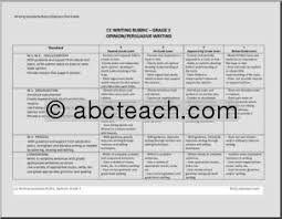 Persuasive essay rubric common core   Name offer tk Related Post of Common core standards argumentative essay rubric Teachers  Pay Teachers