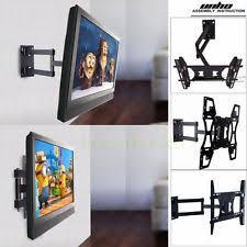 tv on wall corner. corner full motion swivel tv wall mount 26 32 36 40 42 46 50 52 55 tv on s