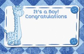 Congratulate On New Baby Congratulations New Baby Boy Giraffe Free New Baby Ecards 123