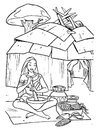 Small Picture Native American Coloring Pages Best Coloring Pages For Kids