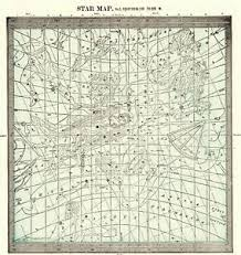 Astrology Map Chart Details About 1901 Antique Astronomy Print Star Constellation Map Chart Astrology Map 7102