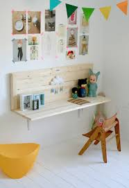Kids Room: Kids Desk Furniture With Wall System - Bookshelves