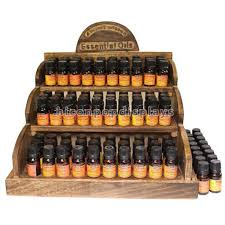 Essential Oil Display Stand Amazing Custom Table Top Retail Store Wooden 32ml Eliquid Juice Bottles And