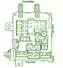 2000 corolla fuse box layout 2000 wiring diagrams