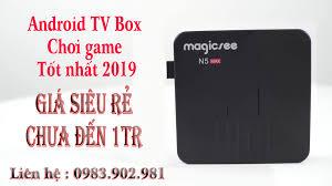 Smart New - Android TV Box chơi game tốt nhất 2019 - Android TV Box  Magicsee N5 Max