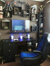 cool bedrooms for gamers. Awesome Pc Gaming Room Ideas 45 For Elegant Design With Cool Bedrooms Gamers