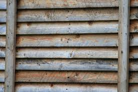 slats on wooden panel