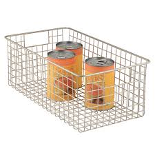 Plastic Coated Wire Racks Storage Baskets in Plastic Wire Fabric Storables 38