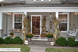 Fall Porch Decorating Our Vintage Home Love Fall Porch Ideas