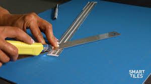 how to install smart tiles finishing edge smart edge