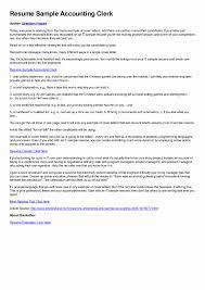 Canada Resume Example Download Accounting Clerk Resume Sample DiplomaticRegatta 29